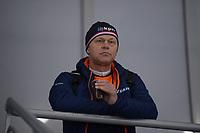 SPEEDSKATING: 05-12-2018, Tomaszów Mazowiecki (POL), ISU World Cup Arena Lodowa, coach Henk Hospes, ©photo Martin de Jong