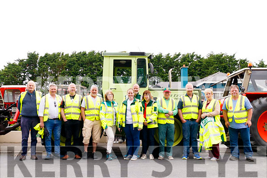 Members of Asdee & Beale first responders who marshalled for the Asdee Vintage tractor rally which was on last Sunday in Asdee.