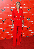 Emma Willis attends photocall to launch The Voice Kids, new ITV series of the children's talent show, at The RSA, London on June 06, 2019.<br /> CAP/JOR<br /> ©JOR/Capital Pictures