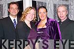 FUN: Having fun at the Clounmacon annual social in the Listowel Arms Hotel on Saturday night were James Dolan, Liberty Sacker, Bet O'Sullivan and Jim Halpin.   Copyright Kerry's Eye 2008