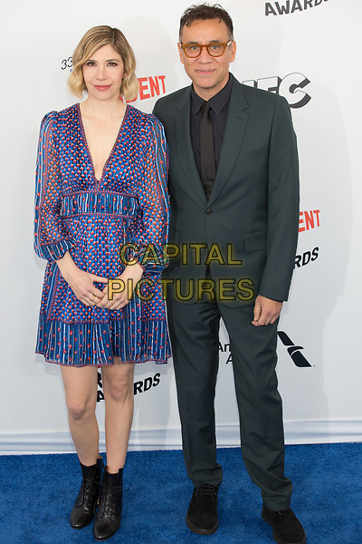 SANTA MONICA, CA - MARCH 3: Carrie Brownstein and Fred Armisen at the 2018 Film Independent Spirit Awards in Santa Monica, California on March 3, 2018. <br /> CAP/MPI/SR<br /> &copy;SR/MPI/Capital Pictures