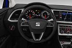 Car pictures of steering wheel view of a 2018 Seat Leon Xcellence 5 Door Hatchback