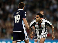 Calcio, Tim Cup: finale Juventus vs Lazio. Roma, stadio Olimpico, 17 maggio 2017.<br /> Juventus&rsquo; Dani Alves, right, celebrates past Lazio's Senad Lulic after scoring during the Italian Cup football final match between Juventus and Lazio at Rome's Olympic stadium, 17 May 2017.<br /> UPDATE IMAGES PRESS/Isabella Bonotto
