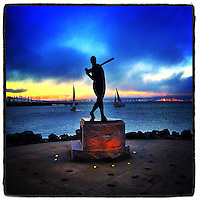 Willie McCovey statue, 2014