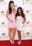 Jenni Fraley aka JWOW & Nicole Polizzi aka snookie at the 2010 MTV Movie Awards held at The Gibson Ampitheatre in Universal City, California on June 06,2010                                                                               © 2010 Debbie VanStory / Hollywood Press Agency