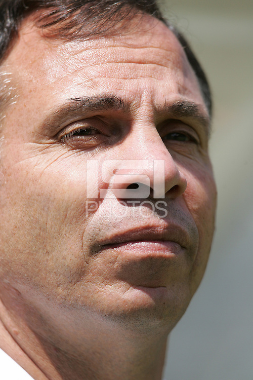 9 July 2005:  USA head coach Bruce Arena is pictured before the game against Canada during CONCACAF Gold Cup at Qwest Stadium in Seattle, Washington.   USA defeated Canada, 2-0.    Credit: Michael Pimentel / ISI