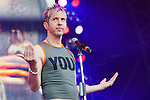 Limahl (Kajagoogoo), Christopher Hamill,  plays the Scottish Rewind Festival at Scone Palace, Perth on Saturday, July 21, 2012.<br />