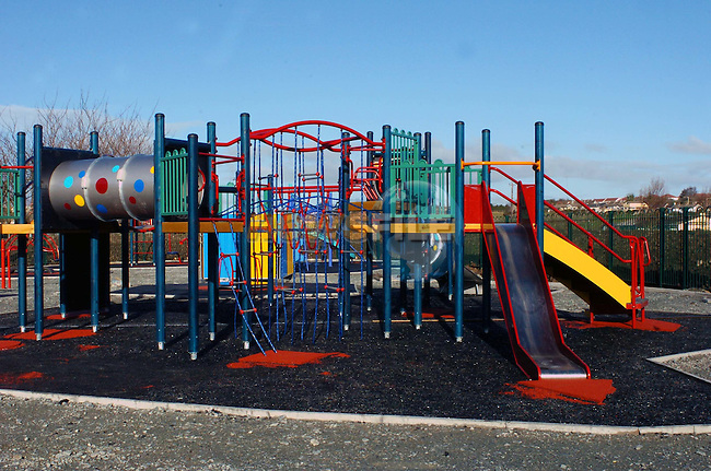 Playground in Dominics Park.Picture Fran Caffrey Newsfile