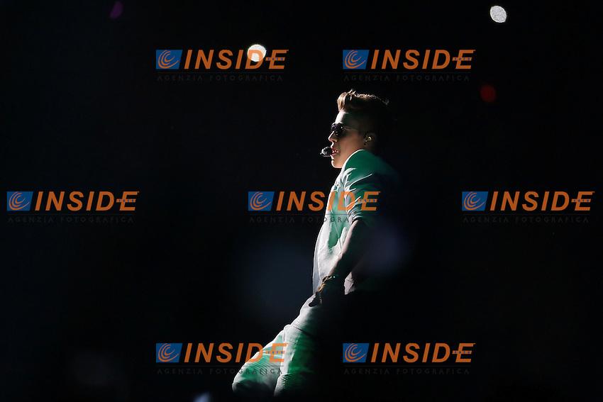 Justin Bieber 23/03/2013. in concerto a Casalecchio del Reno al UNIPOL Arena, data italiana del Believe tour. Mark Cape Insidefoto.