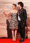 Spanish actors Manuela Velles (l) and Oscar Jaenada during the 59th San Sebastian Donostia International Film Festival - Zinemaldia.September 18,2011. Photo: Acero / Alter / ALFAQUI