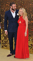 Joshua Sasse &amp; Kylie Minogue at the &quot;Absolutely Fabulous: The Movie&quot; world film premiere, Odeon Leicester Square, Leicester Square, London, England, UK, on Wednesday 29 June 2016.<br /> CAP/CAN<br /> &copy;CAN/Capital Pictures /MediaPunch ***NORTH AND SOUTH AMERICAS ONLY***