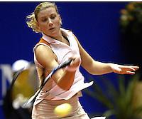 20031209, Rotterdam, LSI Masters, Linda Sentis in haar partij tegen Gerards