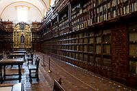 The Palafoxiana library, Puebla, Puebla.