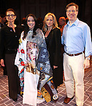 Executive Director of AEA Mary McColl, Cameron Adams, Paige Price & Ira Mont.during the Broadway Opening Night Gypsy Robe Ceremony honoring Cameron Adams in 'Nice Work If You Can Get It' at the ImperialTheatre on 4/24/2012 in New York City.