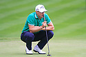 Alex Noren of Sweden in action during the final round of the BMW PGA Championship played over the West Course at the Wentworth Club on 24th May 2015 in Virginia Water, Surrey, England. Picture Credit / Phil INGLIS