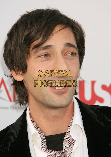 ADRIEN BRODY.35th AFI Life Achievement Award Honoring Al Pacino held at the Kodak Theatre, Hollywood, California, USA..June 7th, 2007.headshot portrait .CAP/ADM/RE.©Russ Elliot/AdMedia/Capital Pictures