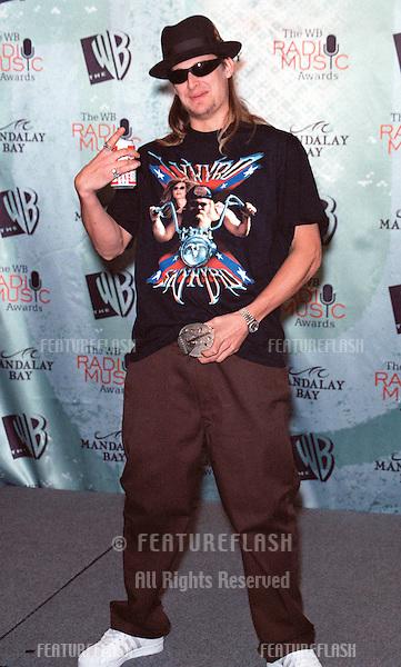 28OCT99:  Hip Hop singer KID ROCK at The WB Radio Music Awards at the Mandalay Bay Resort & Casino, Las Vegas..© Paul Smith / Featureflash