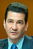 Dr. Scott Gottlieb, M.D., Commissioner,  United States Food and Drug Administration, appears before the US Senate Committee on Appropriations Subcommittee on Agriculture, Rural Development, Food and Drug Administration to review of the Fiscal Year 2018 Food & Drug Administration Budget Request on Capitol Hill in Washington, DC on Tuesday, June 20, 2017.<br /> Credit: Ron Sachs / CNP