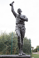 General View of the statue of Gordon Banks OBE, Outside the Britannia Stadium, home of Stoke City Football Club at the Britannia Stadium, Stoke-on-Trent, England on 5 August 2015. Photo by David Horn.