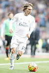 Real Madrid's Luka Modric during La Liga match. February 13,2016. (ALTERPHOTOS/Acero)