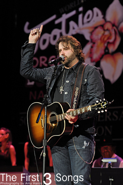 RANDY HOUSER performs at the Ryman Auditorium for Tootsie's Orchid Lounge 50th Anniversary Celebration in Nashville, Tennessee on November 8, 2010.