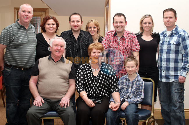 Rose Rogers with her family at her 60th in The Thatch...(Photo credit should read Jenny Matthews www.newsfile.ie)....This Picture has been sent you under the conditions enclosed by:.Newsfile Ltd..The Studio,.Millmount Abbey,.Drogheda,.Co Meath..Ireland..Tel: +353(0)41-9871240.Fax: +353(0)41-9871260.GSM: +353(0)86-2500958.email: pictures@newsfile.ie.www.newsfile.ie.