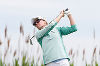 Kris Tamulis (USA) tees off on the 6th hole during the final round of the ShopRite LPGA Classic presented by Acer, Seaview Bay Club, Galloway, New Jersey, USA. 6/10/18.<br /> Picture: Golffile   Brian Spurlock<br /> <br /> <br /> All photo usage must carry mandatory copyright credit (&copy; Golffile   Brian Spurlock)