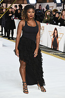 """Clara Amfo<br /> arriving for the """"Charlie's Angels"""" premiere at the Curzon Mayfair, London.<br /> <br /> ©Ash Knotek  D3538  19/11/2019"""
