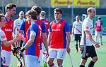 AMSTELVEEN - teleurstelling na het verlies bij Thomas Vis (SCHC)    de hoofdklasse competitiewedstrijd hockey heren,  Amsterdam-SCHC (3-1).  COPYRIGHT KOEN SUYK