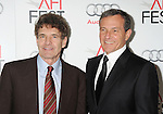 HOLLYWOOD, CA - NOVEMBER 08: Alan Horn and Bob Iger arrive at the 'Lincoln' premiere during the 2012 AFI FEST at Grauman's Chinese Theatre on November 8, 2012 in Hollywood, California.