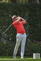 Tyrell Hatton (ENG) watches his tee shot on 12 during round 2 of the World Golf Championships, Mexico, Club De Golf Chapultepec, Mexico City, Mexico. 3/2/2018.<br /> Picture: Golffile | Ken Murray<br /> <br /> <br /> All photo usage must carry mandatory copyright credit (&copy; Golffile | Ken Murray)
