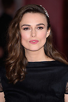 "LONDON, UK. February 18, 2019: Keira Knightley arriving for the premiere of ""The Aftermath"" at the Picturehouse Central, London.<br /> Picture: Steve Vas/Featureflash"