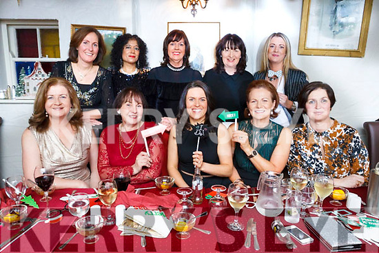 Lorraine O'Donoghue of Ballyard, Tralee, seated front centre, enjoing her Hen Party in Cassidy's Restuarant, Tralee on Friday night last. Celebrating with Lorraine are,  seated Ellen Cox, Mary McMahon, Lorraine, Catherine Burke & Louise Nolan. Standing, Trisha Griffin, Vera Hennessy, Siobhan Kelliher, Marina Sheehy & Cora Walsh.