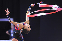 September 24, 2014 - Izmir, Turkey - BECCA SEREDA of USA performs at 2014 World Championships.