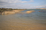 The Denes, lagoon, Benacre, national nature reserve, Suffolk, England