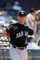 September 6 2009:  Craig Clark of the San Jose Giants during game against the Lake Elsinore Storm at The Diamond in Lake Elsinore,CA.  Photo by Larry Goren/Four Seam Images