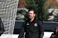 TUKWILA, WA - NOVEMBER 08: Head Coach Greg Vanney of Toronto FC at Starfire Sports Complex on November 08, 2019 in Tukwila, Washington.