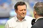 Christian Titz (Trainer, Hamburger SV) im Interview beim Spiel in der Fussball Bundesliga, TSG 1899 Hoffenheim - Hamburger SV.<br /> <br /> Foto &copy; PIX-Sportfotos *** Foto ist honorarpflichtig! *** Auf Anfrage in hoeherer Qualitaet/Aufloesung. Belegexemplar erbeten. Veroeffentlichung ausschliesslich fuer journalistisch-publizistische Zwecke. For editorial use only.