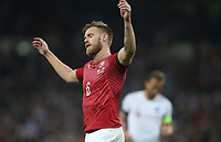 Czech Republic's Tomas Kalas after scoring an own goal for England's fifth<br /> <br /> Photographer Rob Newell/CameraSport<br /> <br /> UEFA Euro 2020 Qualifying round - Group A - England v Czech Republic - Friday 22nd March 2019 - Wembley Stadium - London<br /> <br /> World Copyright © 2019 CameraSport. All rights reserved. 43 Linden Ave. Countesthorpe. Leicester. England. LE8 5PG - Tel: +44 (0) 116 277 4147 - admin@camerasport.com - www.camerasport.com