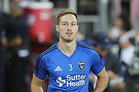 San Jose, CA - Wednesday September 27, 2017: Francois Affolter prior to a Major League Soccer (MLS) match between the San Jose Earthquakes and the Chicago Fire at Avaya Stadium.
