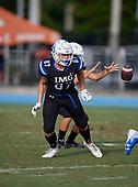 Anton Jallai (87) - Norland Vikings (Miami) vs IMG Academy Football on October 26, 2019 at IMG Academy in Bradenton, Florida.  (Mike Janes Photography)