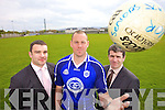 Kerins O'Rahillys players Barry O'Shea, Micheal Quirke and Mark Fitzgerald delighted their club was chosen to launch the All Ireland Football Championship on the 4th of May.