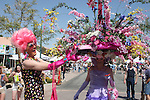 easter bonnet contest at White Party in Palm Springs