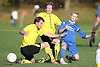 Branksome Railway .beat Queens Park 6-2 in the quarter final of the Mark Hart Sunday Senior Cup at branksome rec 27-11-11