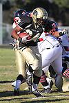 Palos Verdes, CA 11/12/10 - Okuoma Idah (Peninsula #24) in action during the Palos Verdes - Peninsula varsity football game at Peninsula High School.