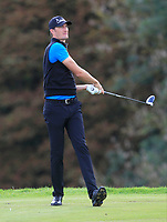 Sebastian Heisele (GER) on the 3rd tee during Round 1 of the Bridgestone Challenge 2017 at the Luton Hoo Hotel Golf &amp; Spa, Luton, Bedfordshire, England. 07/09/2017<br /> Picture: Golffile   Thos Caffrey<br /> <br /> <br /> All photo usage must carry mandatory copyright credit     (&copy; Golffile   Thos Caffrey)