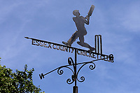Blue skies behind the weather vane during Essex Eagles vs Kent Spitfires, Royal London One-Day Cup Cricket at The Cloudfm County Ground on 6th June 2018