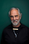 Portrait of the legendary stoner comedian and actor Tommy Chong in Seattle. <br /> Photo by Daniel Berman.