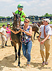 Bishop's Castle winning at Delaware Park on 7/11/15