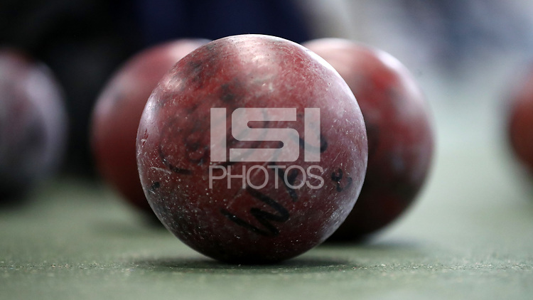 WINSTON-SALEM, NC - FEBRUARY 08: Shot Put ball at JDL Fast Track on February 08, 2020 in Winston-Salem, North Carolina.